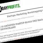 Die 10 größten Startup-Blogs und Magazine in Deutschland