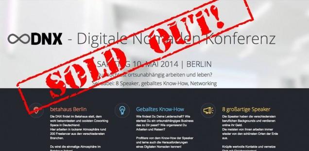 Die DNX Berlin - erste Konferenz für (angehende) digitale Nomaden!